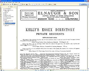 Kelly's Directory Northamptonshire 4 Volumes transferred from original Pdf Books