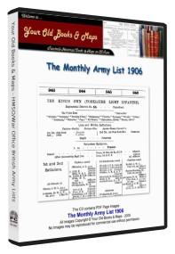 British Army List 1906