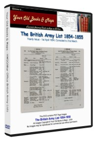 British Army List 1854