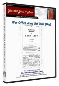 British Army List 1867