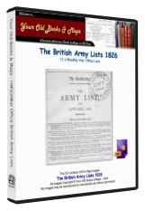 British Army List 1826