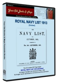 Royal Navy List 1913