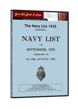 Royal Navy List 1925