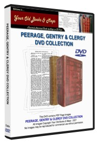 PEERAGE & CLERGY COLLECTION
