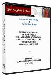 Criminal Chronology of York Castle