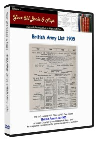 British Army List 1905