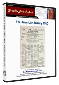 British Army List 1910