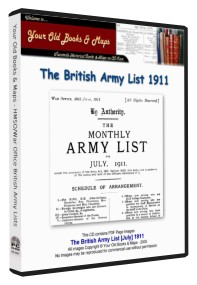 British Army List 1911