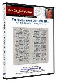 British Army List 1850