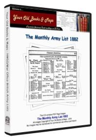 British Army List 1882