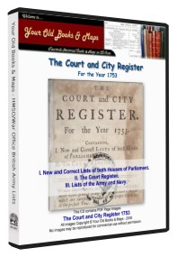 Annual Court & City Register 1753