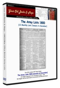 British Army List 1800