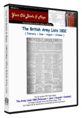 British Army List 1802