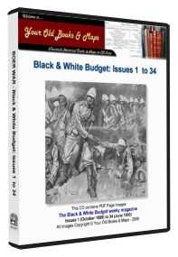 Boer War Black and White Budget Magazines