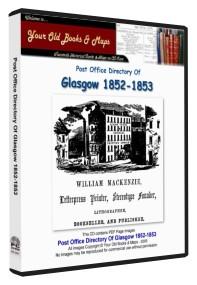 Glasgow Directory 1852 - 1853