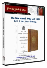 Harts Annual Army List 1849