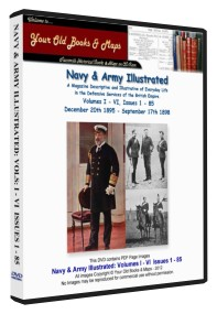 Navy and Army Illustrated Magazine Volumes I - VI Bundle