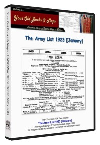 British Army List 1923