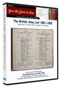 British Army List 1851