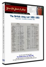 British Army List 1852