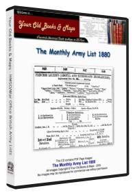 British Army List 1880