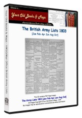 British Army List 1803