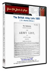 British Army List 1820