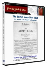 British Army List 1825