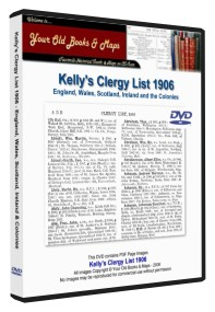 Kelly's Clergy List, Clerical Guide and Ecclesiastical Directory 1906