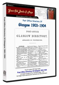 Glasgow Post Office Directory 1903 - 1904