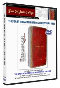 East India Register & Directory 1823