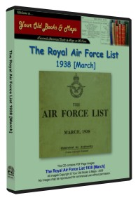 Royal Air Force List 1938