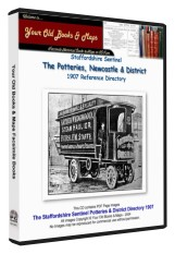 Staffordshire Sentinel Directory of The Potteries & Newcastle 1907