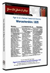 Pigot's Directory of Worcestershire 1835