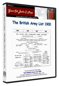 British Army List 1900