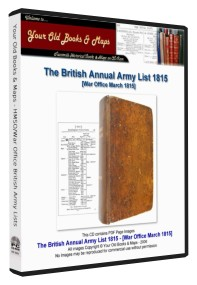 British Army List 1815 Yearly