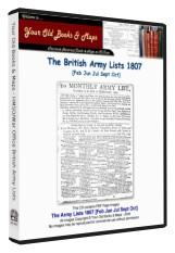 British Army List 1807