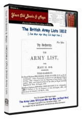 British Army List 1812