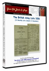 British Army List 1836