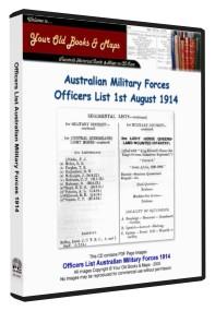 Australian Army List 1914