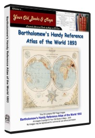 Bartholomew Handy World Atlas 1893