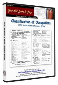 Official Classification of Occupations 1931
