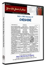 Kelly's Directory of Cheshire 1892