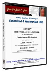Parson & White Directory of Cumberland 1829