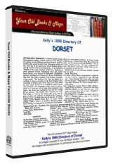 Kelly's Directory of Dorset 1898