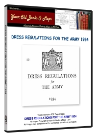Dress Regulations for The Army 1934