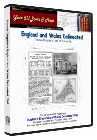 England & Wales delineated Thomas Dugdale 1846