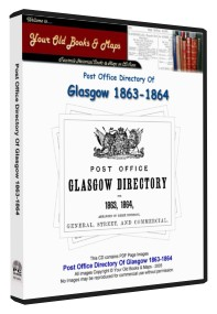 Glasgow Post Office Directory 1863 - 1864
