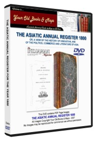 Asiatic Annual Register 1800