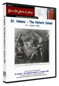 St. Helena. The Historic Island. 1903. E.L. Jackson.